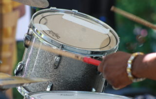 drums at the cape may mac Hops Festival
