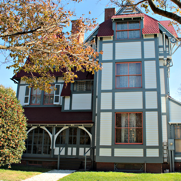 emlen physick estate on washington street in cape may new jersey