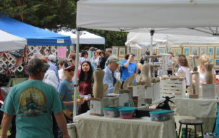 vendors at the cape may mac sip into spring festival