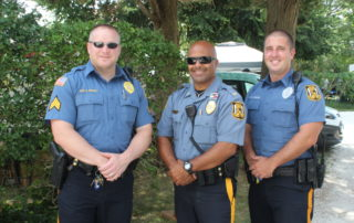 cape may police offices at the cape may mac Craft beer, Music & Crab Festival