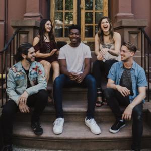 Backtrack Vocals, a 5 piece a capella group