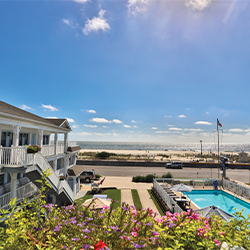 The Capri Motor Lodge, beach front property in Cape may new jersey