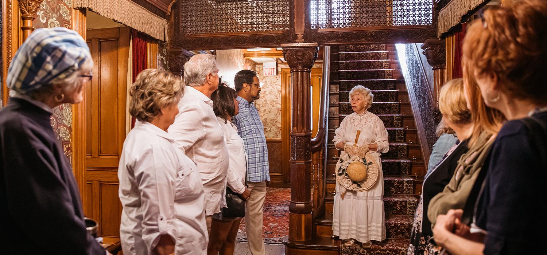 Emlen PHysick Estate House tour