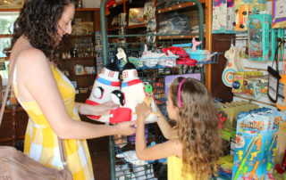 Family shoping at the Cape May Lighthouse Museum Shop