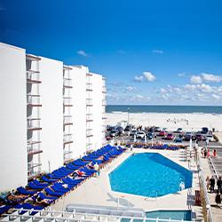 Hotel Icona Diamond Beach in Wildwood Crest New Jersey