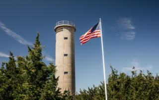 world war ii lookout tower in cape may new jersey