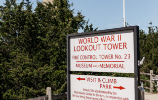 World War ii lookout tower in cape may new jesrey