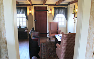living room of the Owen Coachman House