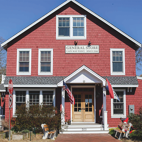 The Red Store Restaurant in Cape May