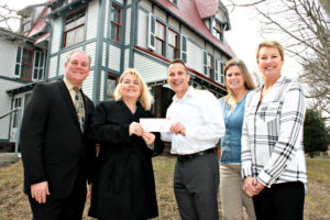 Sturdy Savings Bank and Cape May MAC officials