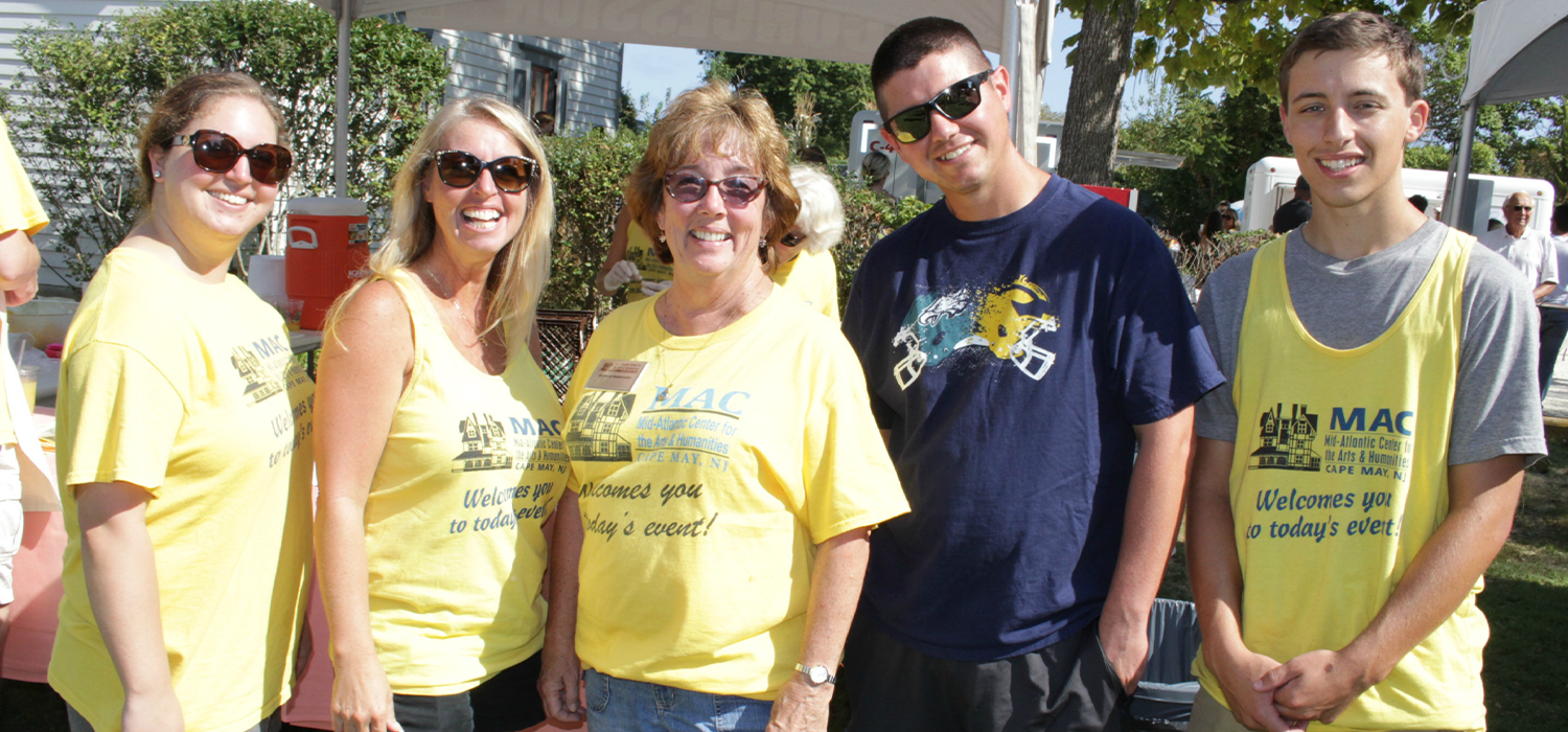 Cape May MAC Volunteers at a Festival