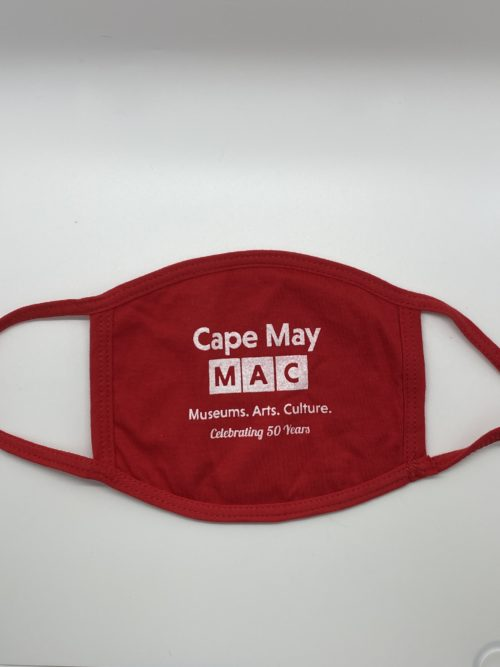 Face Mask with Cape May MAC logo