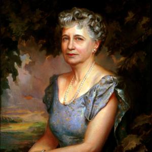 painting of Bess Truman