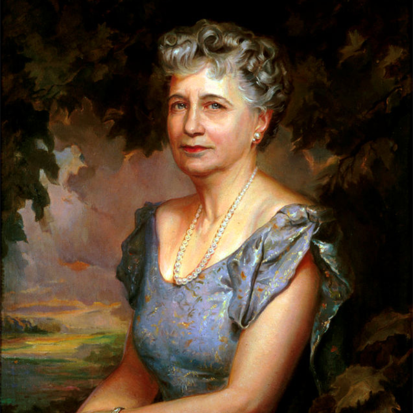 painting of Bess Truman