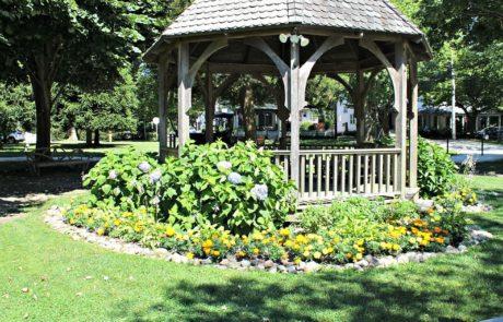 garden at the emlen physick estate